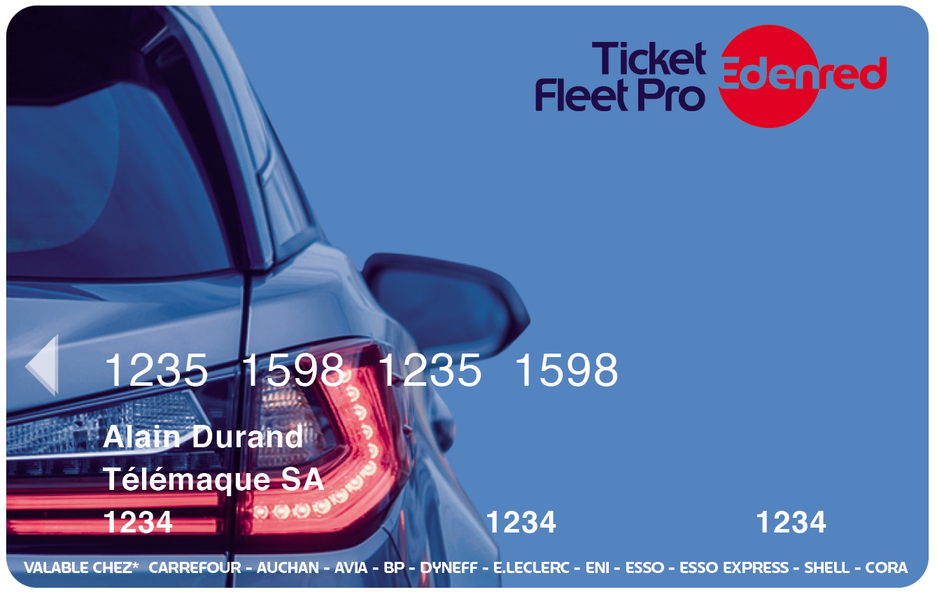 Carte Carburant Ticket Fleet Pro